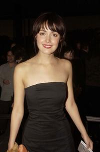 Rose Byrne at the 2002 Lexus IF Awards (The Peoples Choice Awards for Australian Films).