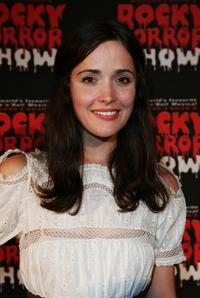 Rose Byrne at the Rocky Horror Show.