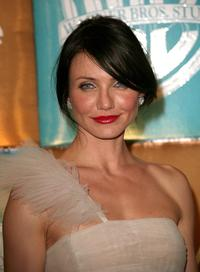 Cameron Diaz at the Golden Globe after party.