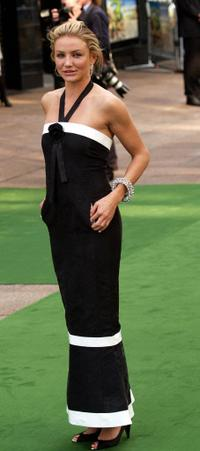 Cameron Diaz at the London premiere of
