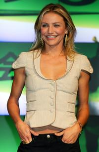 Cameron Diaz at the Tokyo press conference of