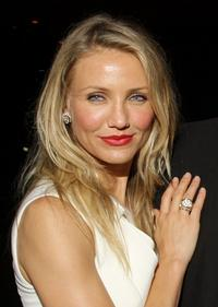 Cameron Diaz at the after party of the New York premiere of
