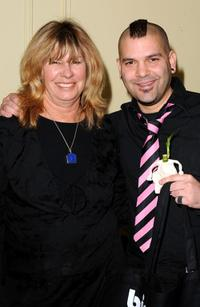 Guillermo Diaz and Guest at the Pre-Golden Globes DPA Gifting Lounge.