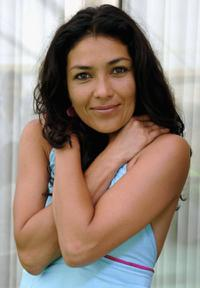 Dolores Heredia at the promotion of