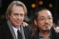 Steve Buscemi and Teruyuki Kagawa at the premiere of