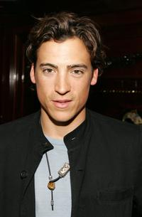 Andrew Keegan at the AVP (Association of Volleyball Professionals) celebration party.