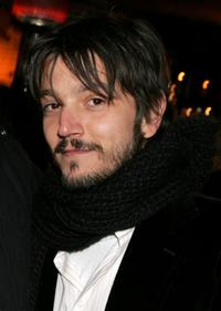 Diego Luna at the 2007 Sundance Film Festival for the party