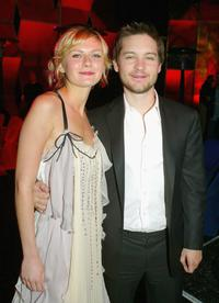 Tobey Maguire and Kirsten Dunst at the California premiere of