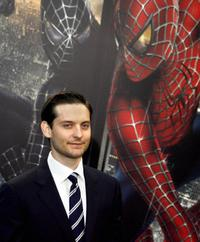 Tobey Maguire at the Berlin photocall for
