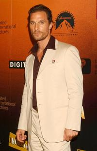 Matthew McConaughey at the premiere of