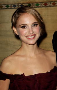 Actress Natalie Portman at the after party of the London premiere of