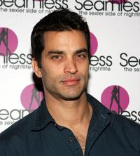 Johnathon Schaech at the grand opening of the Seamless Adult Ultra Lounge.