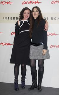 Maria Schrader and Zervya Shalev at the photocall of
