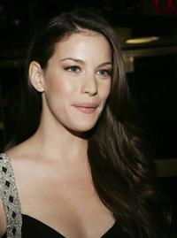 Liv Tyler at the New Yorkers For Children annual fall gala dinner.