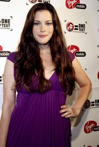 Liv Tyler at the Virgin Mobile VMA Post Party.