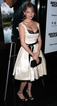 Michelle Williams at the premiere of