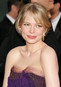 Michelle Williams at the 63rd Annual Golden Globe Awards.