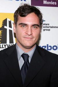 Joaquin Phoenix at the 9th Annual Hollywood Film Awards.
