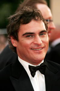 Joaquin Phoenix at the premiere of