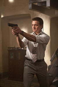 Jeremy Renner as Brandt in ``Mission Impossible -- Ghost Protocol.''
