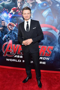 Jeremy Renner at the California world premiere of