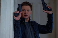Jeremy Renner as Aaron Cross in ``The Bourne Legacy.''