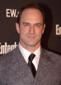 Christopher Meloni at the Entertainment Weekly's Oscar viewing party.