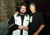 Kevin Smith and Jason Mewes at the after party of the premiere of