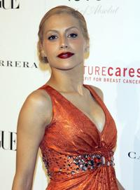 Brittany Murphy at the Carolina Herrera Boutique opening.