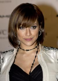Brittany Murphy at the cocktail party for the launch of
