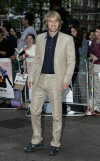 Owen Wilson at the London premiere of