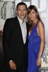 Roschdy Zem and Catalina Denis at the premiere of