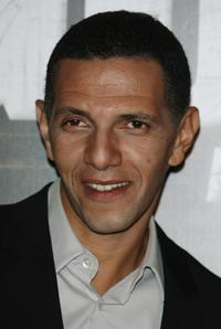 Roschdy Zem at the premiere of