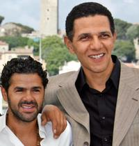 Jamel Debbouze and Roschdy Zem at the photocall of