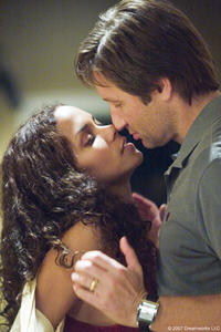 Halle Berry and David Duchovny in