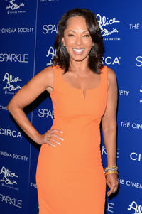 Producer Debra Martin Chase at the New York premiere of