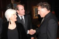Olympia Dukakis, Judd Hirsch and Richard Jenkins at the National Arts Club celebration honoring Olympia Dukakis.
