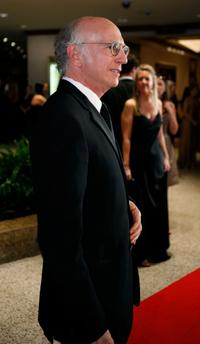 Larry David at the White House Correspondents Association Dinner.