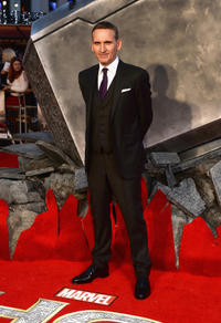 Christopher Eccleston at the London premiere of