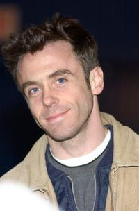 David Eigenberg at the Heroes in Uniforms Charity Hockey Tournament.