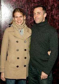 David Eigenberg and his wife Christy at the New York opening night of