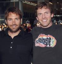 Will Forte and Erik Stolhanske at the California premiere of