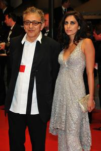 Elia Suleiman and Guest at the 62nd International Cannes Film Festival.