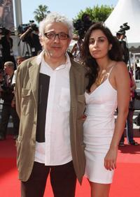 Elia Suleiman and Guest at the premiere of