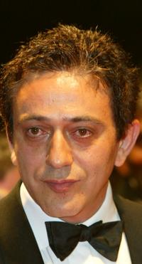 Elia Suleiman at the screening of