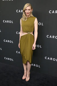 Cate Blanchett at the New York premiere of
