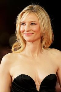 Cate Blanchett at the 2nd Rome Film Festival.