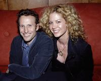 Bodhi Elfman and Jenna Elfman at the Stephen Tobolowsky's Birthday Party.