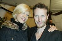 Jenna Elfman and Bodhi Elfman at the Church of Scientology's 11th Annual Christmas Stories Fundraiser.