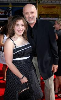 Hector Elizondo and guest at the premiere of